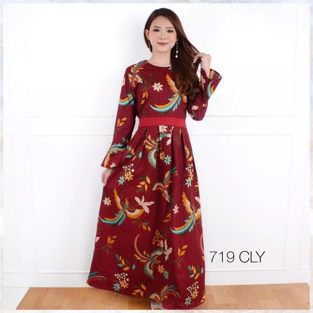 Longdress Batik Katun Stretch Women S Fashion Muslim