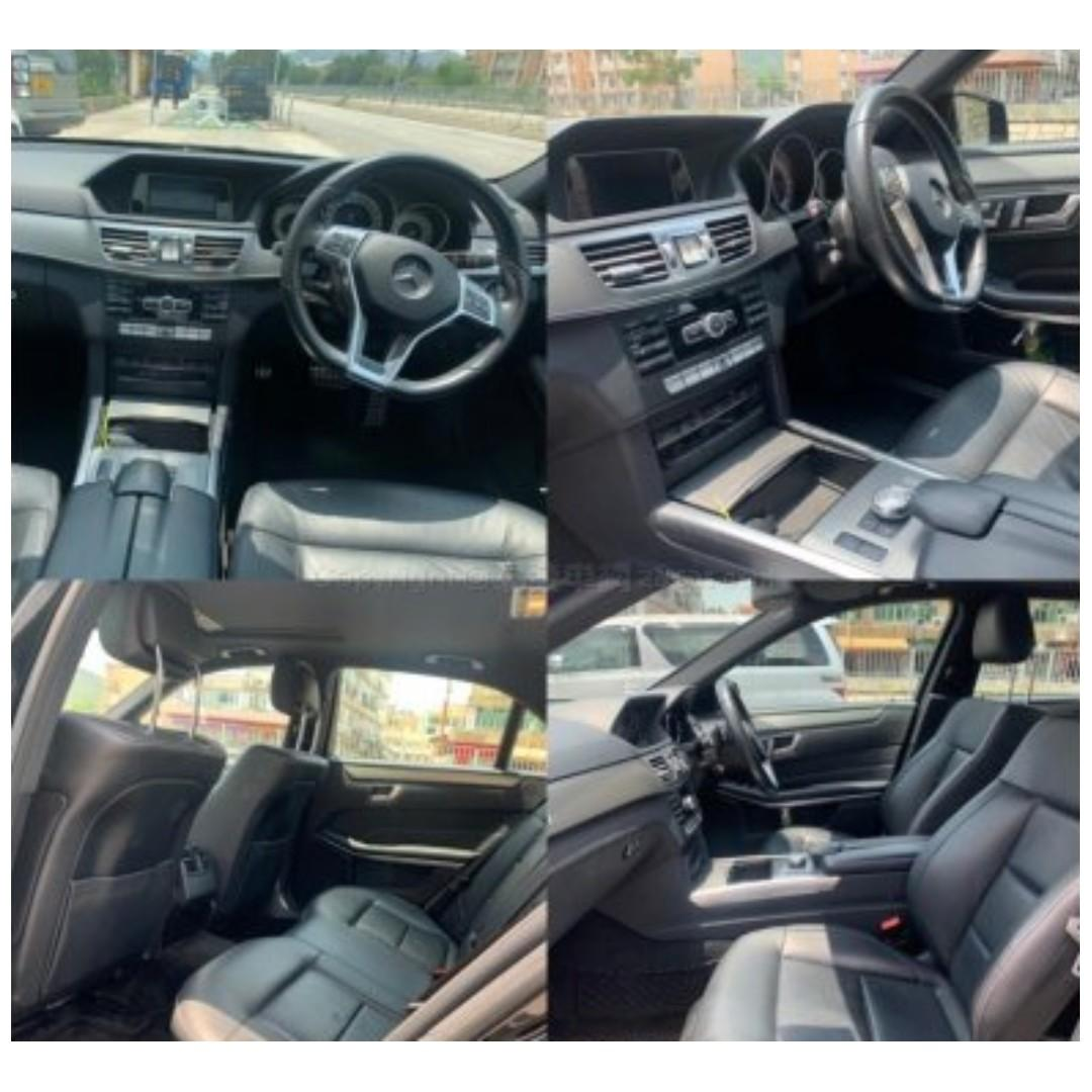 MERCEDES-BENZ E200 AMG 2013