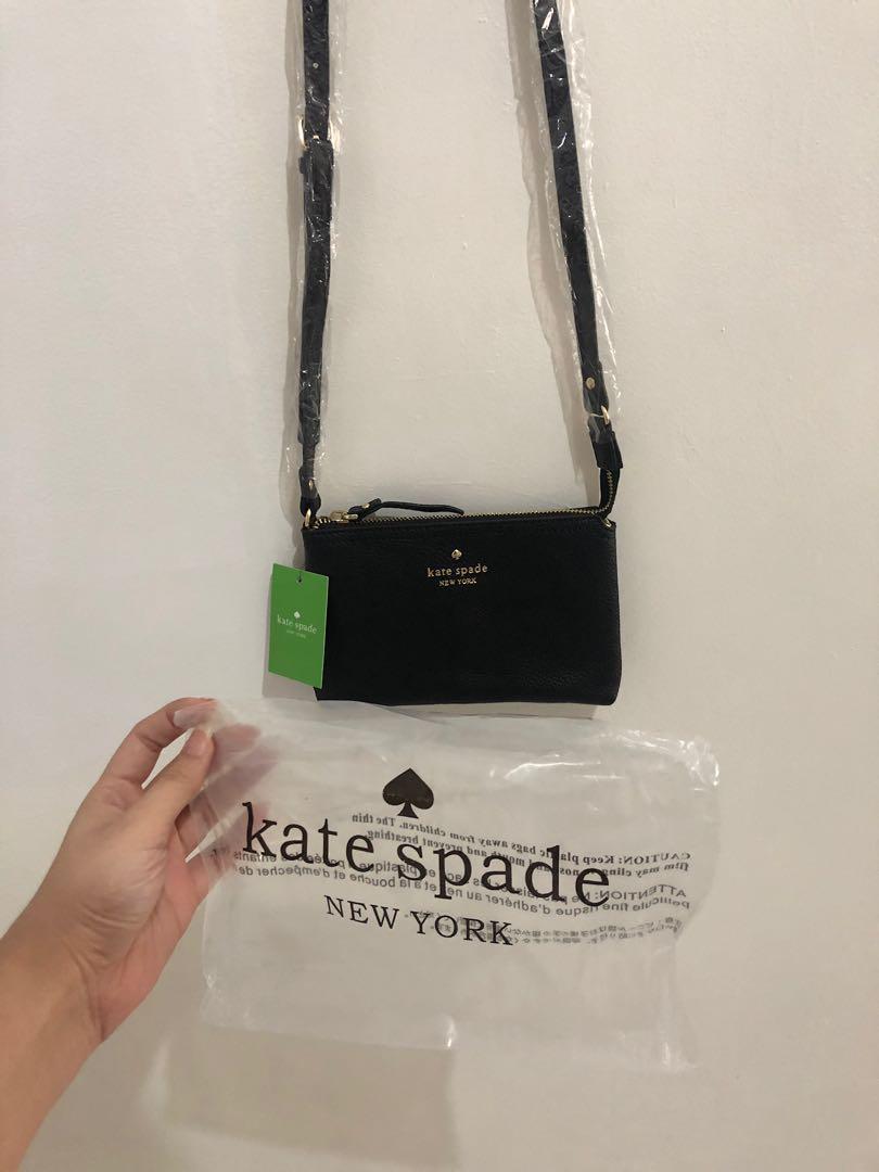NEW Kate Spade Wristlet/Mini Sling Bag