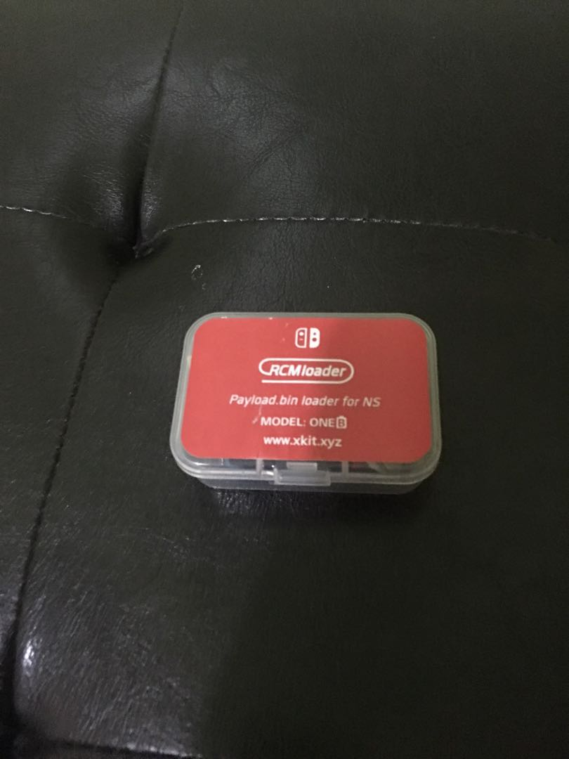 Pre-order Nintendo switch RCM Dongle