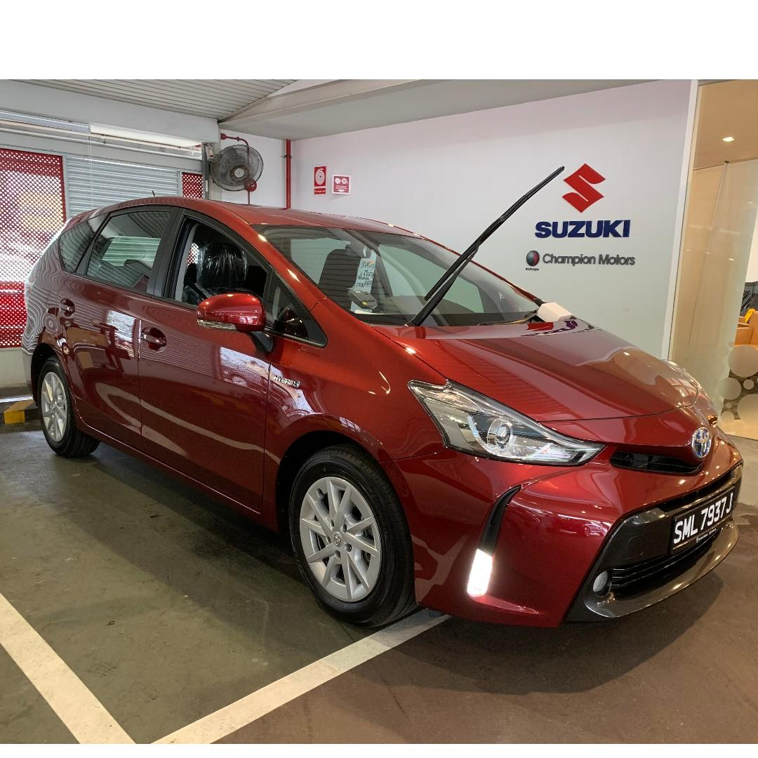 PROMOTION ! 😄Toyota Prius Plus 1.8 Hybrid 2019! Available in stock!!😊