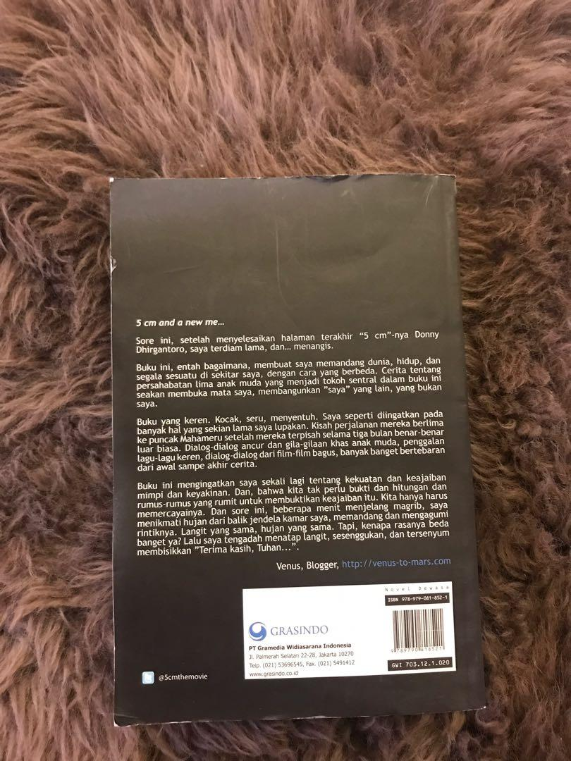 Novel 5cm - Donny Dhirgantoro [Movie Cover]