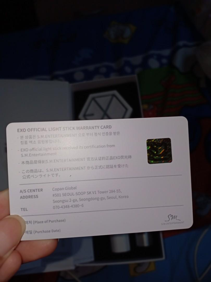 OFFICIAL EXO LIGHTSTICK VERSION 2