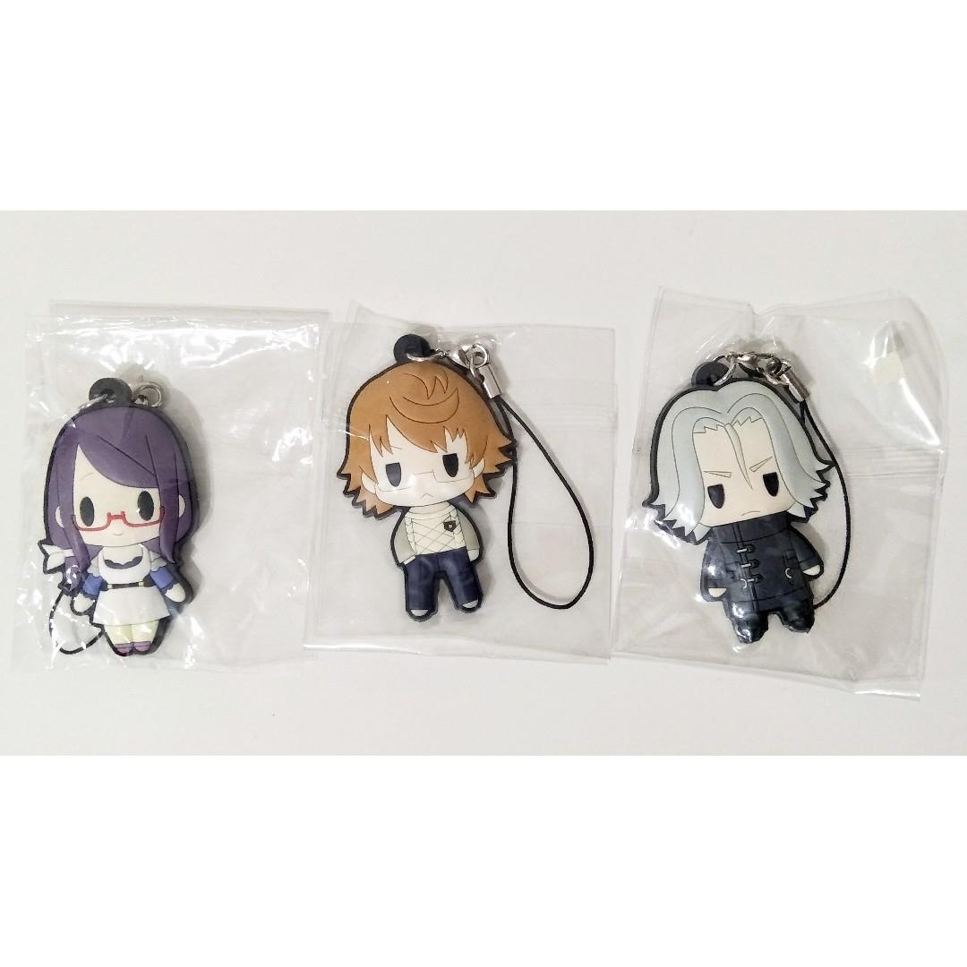 Official Tokyo Ghoul Rubber Charm Rize Nishiki Yomo