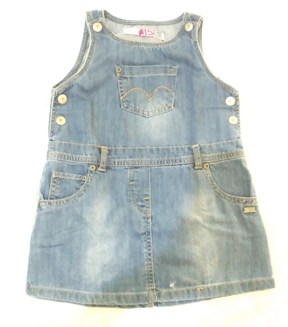 Overall rok jeans baby balita ~ Preloved JSP