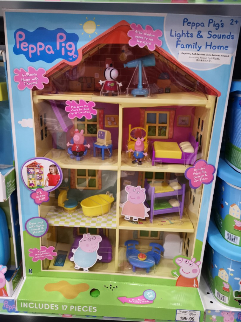 Peppa Pigs Doll House Bcma