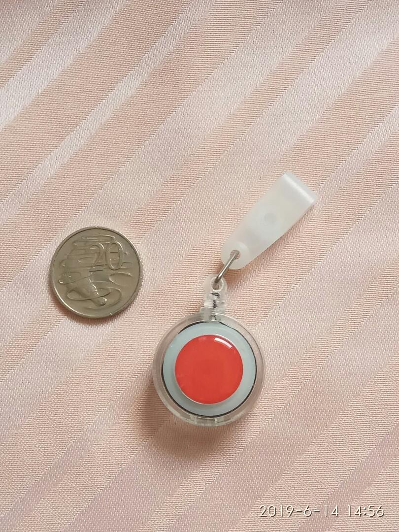 Red DOT card and key holder
