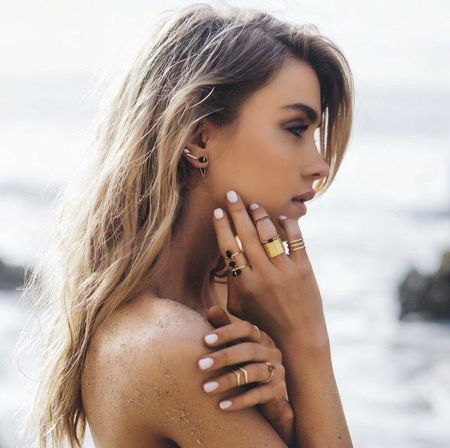 Samantha Wills Copper Gold Ring - Primrose and Moss Collection
