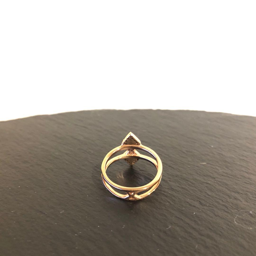 Samantha Wills Eye Of The Tiger Rose Gold and Black Onyx Ring