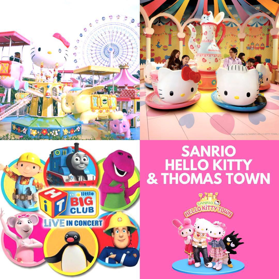 2495e8fde 🚆Sanrio Hello Kitty Town & Thomas Town! Tickets for Sale!, Entertainment,  Attractions on Carousell