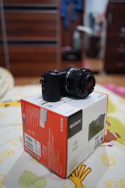 Sony A5000 camera mirrorless