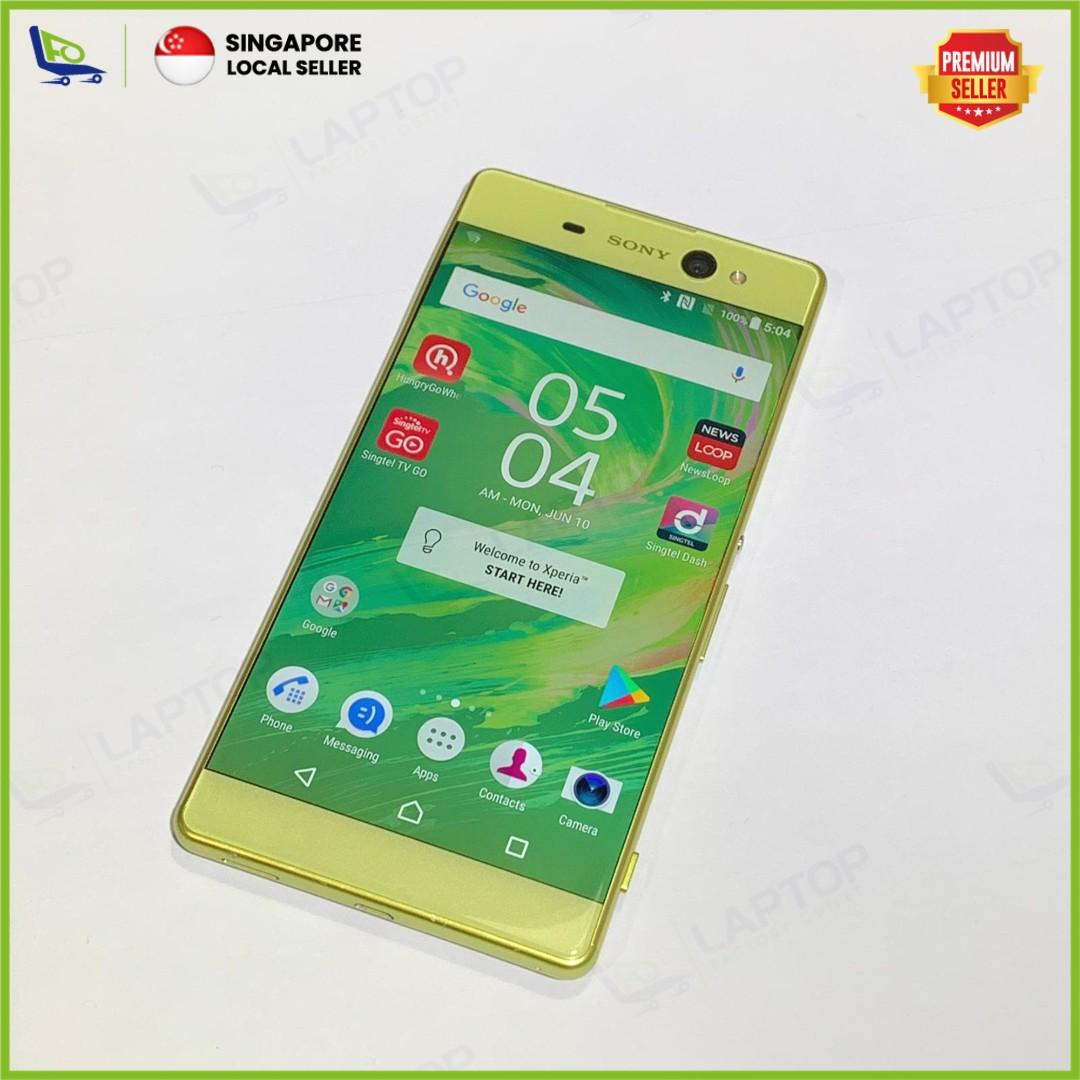 SONY Xperia XA Ultra 16GB Lime Gold [Preowned], Mobile