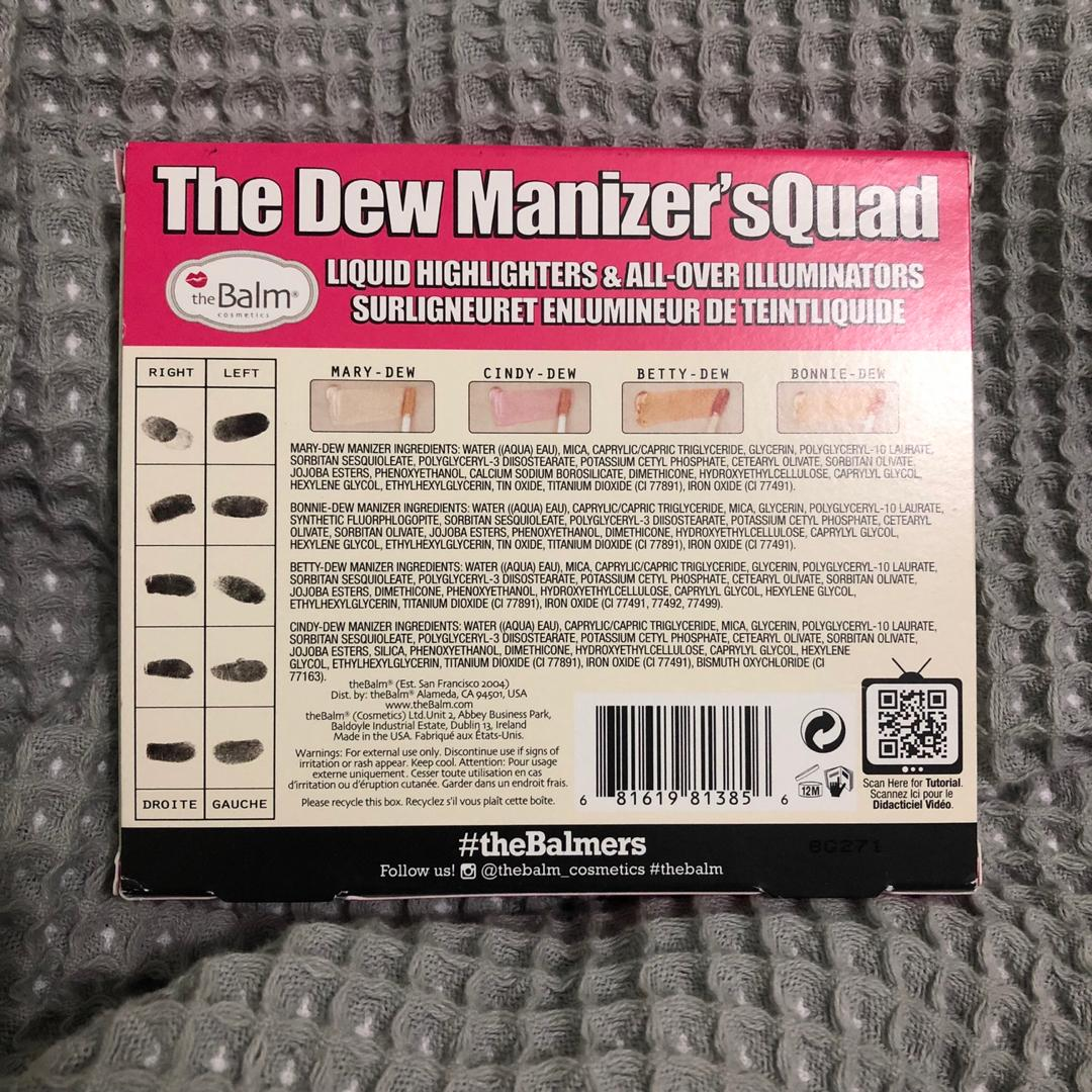THE BALM - THE DEW MANIZER'SQUAD