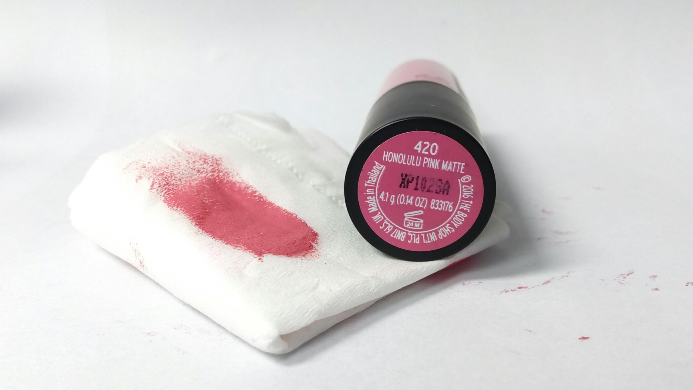 The Body Shop Lipstik