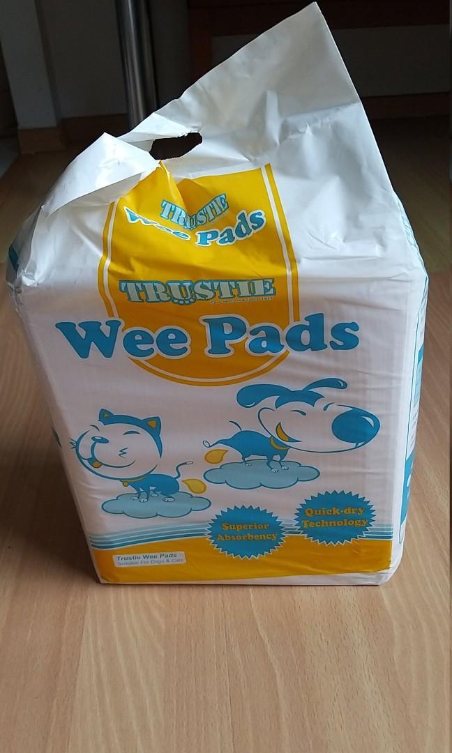 Trustie pee pads medium size x 50 pcs