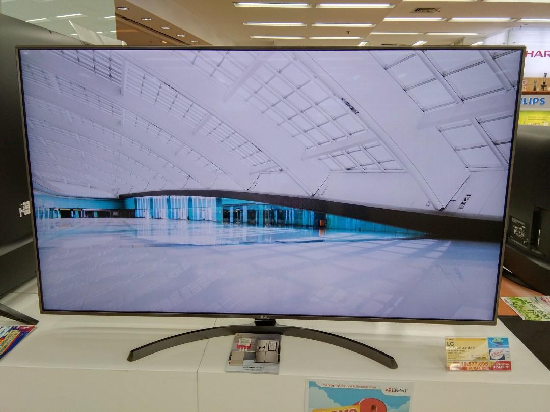 """TV LED LG UHD 4K 65"""" Promo Cashback bisa dicicil tanpa CC"""