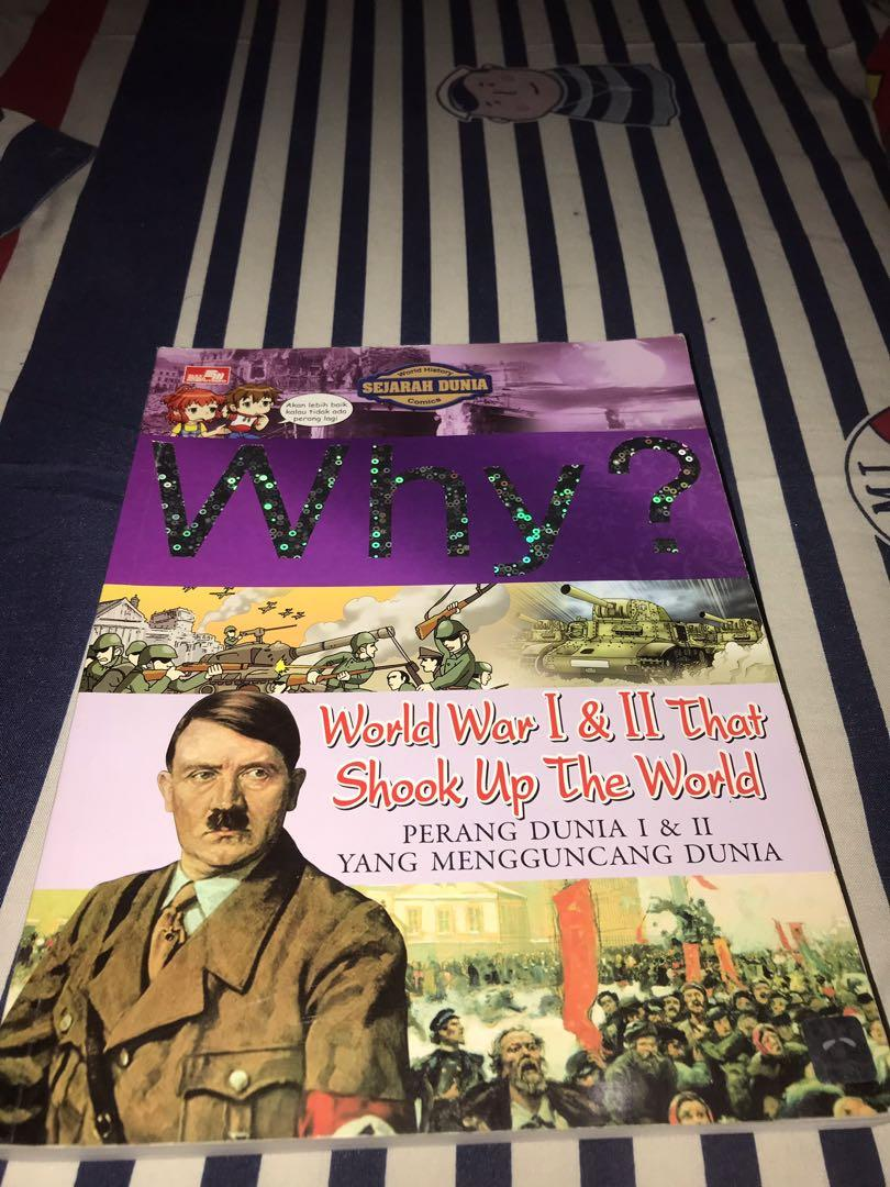 Why? World War 1 & 2 (History)