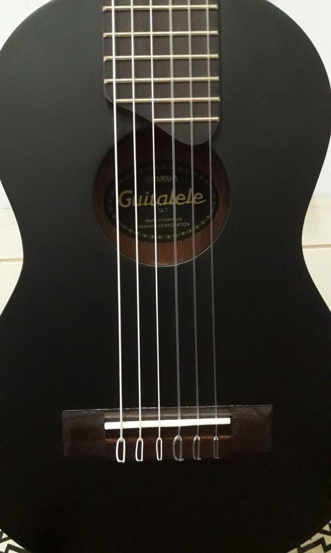 YAMAHA GUITALELE GL1 ORIGINAL BLACK DOFF