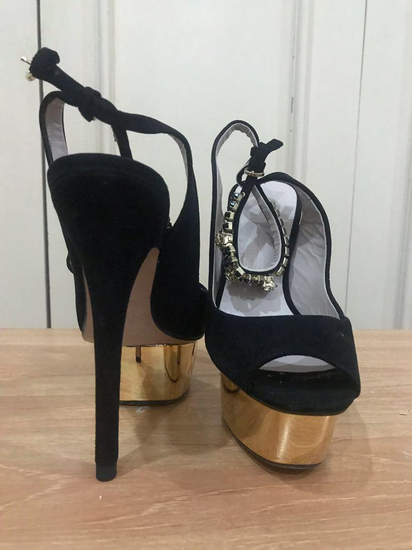 Strappy Zara Sandals Carousell Womens Studded On ARj54L3