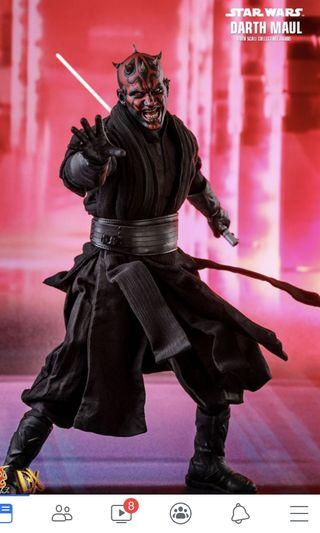 Hot toys star wars darth maul 可取單