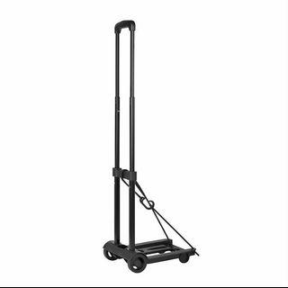 Two-wheeled luggage cart bearing 30KG folding mini trolley-intl