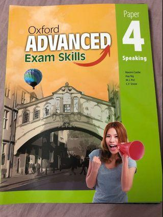 Oxford Advanced Speaking Paper 4