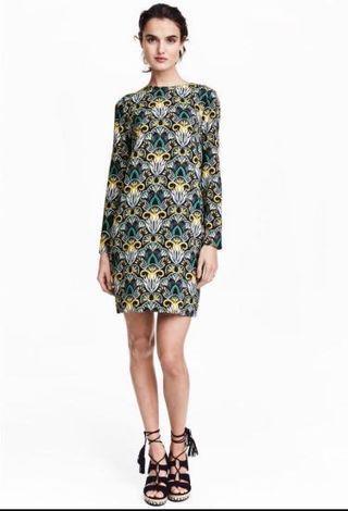 H&M Baroque Shift Dress #Rayathon50