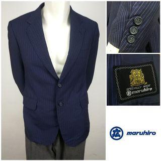 MARUHIRO (Vintage 80's 1980) Single Breasted Jacket Blazer