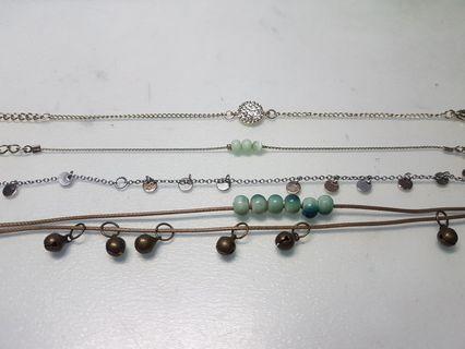 🚚 Assorted Bracelets/Anklets