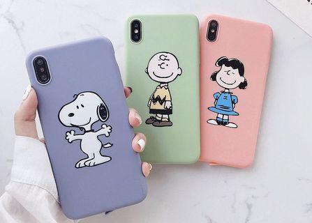🚚 Snoopy / Charlie Brown / Lucy iPhone Case