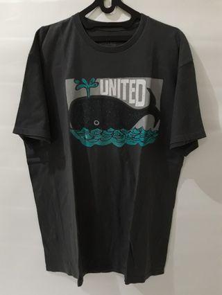 United skateboarding tshirt