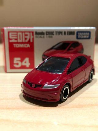Tomica Honda Civic Type R Euro 喜美歐規