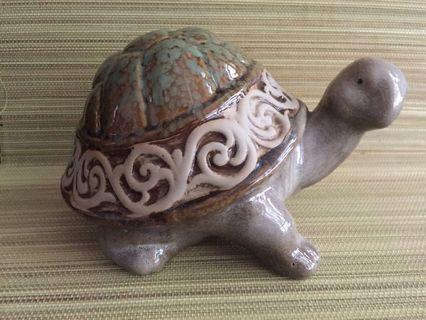 陶瓷長壽龜擺設