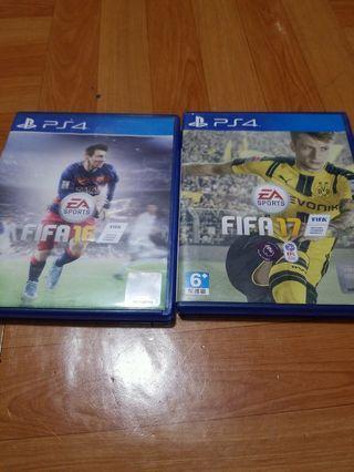 PS4 FIFA 16/17