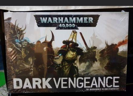 Warhammer 40K Dark Vengeance Angels VS Chaos Marines MISB