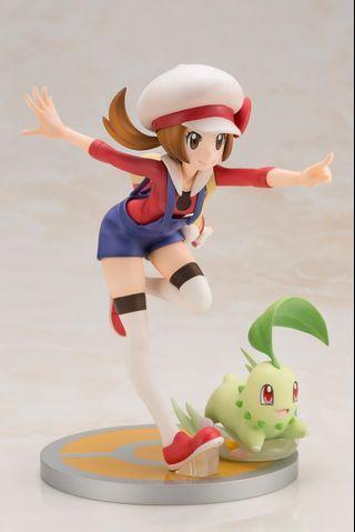 Pokemon – Lyra with Chikorita ARTFX J
