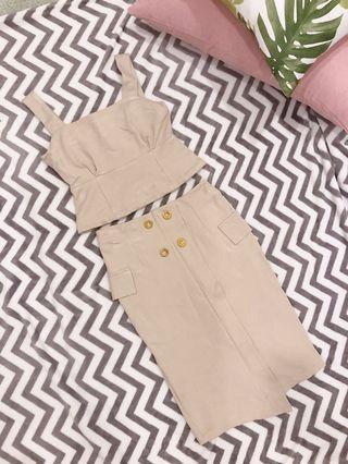 One set Top & Pencil Skirt (Elegant sweet OL look) #MGAG101