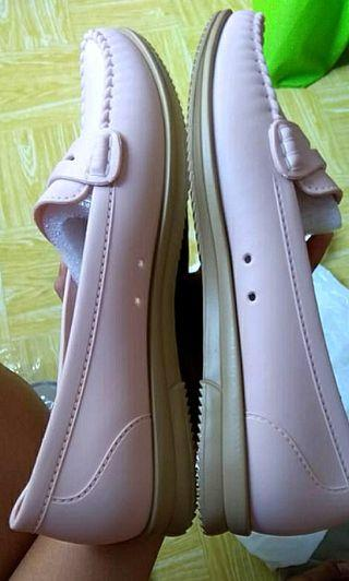 NEW Sepatu rubber jelly pink cantique
