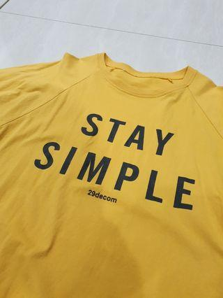 Lets stay simple (Yellow)