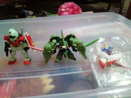 Gundam gashapon