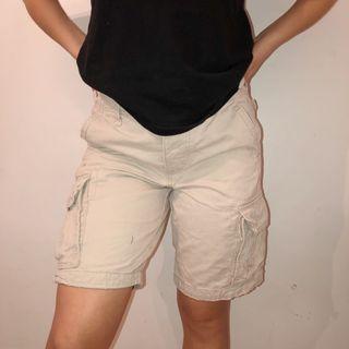 Hollister Beige Cargo shorts