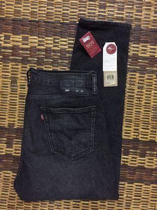 Auth. Levis 505 Jeans (stretch)