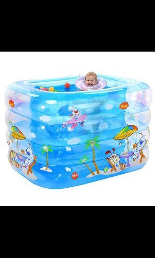 Inflatable Baby Swimming Pool large