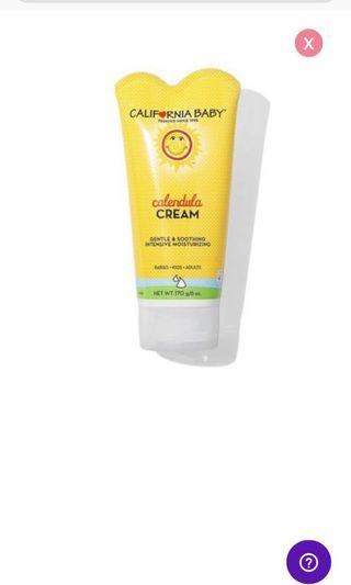 California Baby Calendula Cream (6oz)