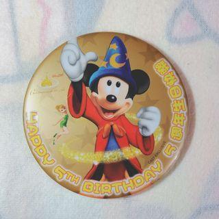 迪士尼襟章 Disney button 迪士尼button 迪士尼扣針