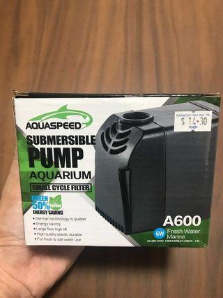 🚚 AQUASPEED Submersible Pump A600 (600L/H) (6W)