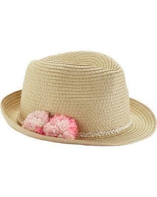 美國Carter's草帽 Straw Hat 0-9m bb帽