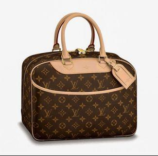 🚚 (Like NEW‼️)💯Louis Vuitton Monogram Deauville Bag (Priced To Clear‼️)