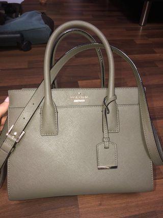 Kate Spade Olive Green Bag