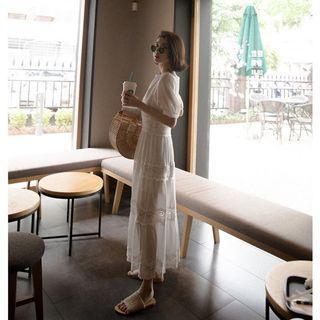 🚚 全新 mercci22層次花邊洋裝